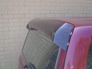 Rear Window Dust Deflectors Roof Rack World