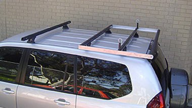 Prado 2003 To 2009 Manual Roof Rack Boat Loader