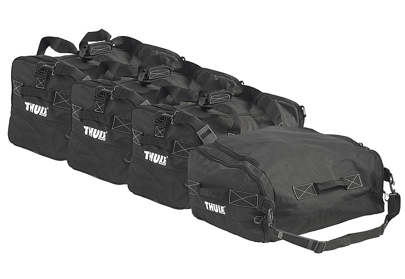 Thule 800601 Gopack Luggage Box Carry Bags Set Of 4