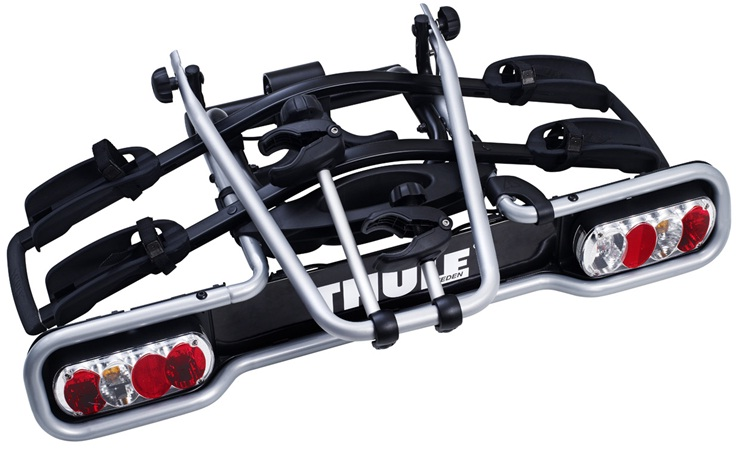 thule 941au euroride 2 bike towball carrier roof rack world. Black Bedroom Furniture Sets. Home Design Ideas