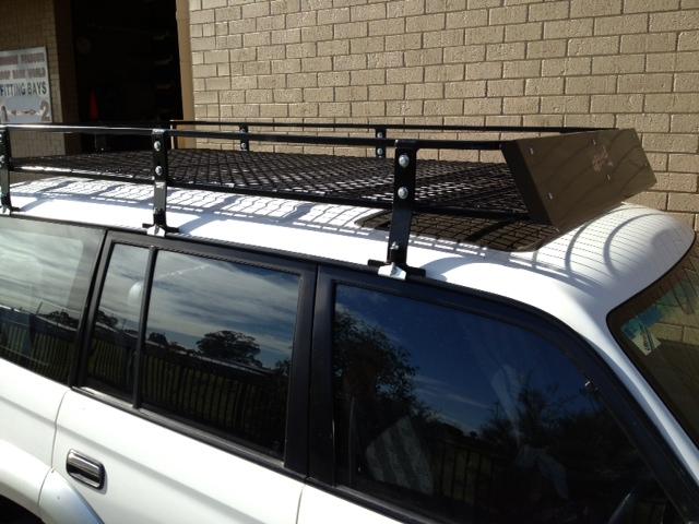 Steel Off Road Heavy Duty Roof Rack 90 Series Prado 2 2 X