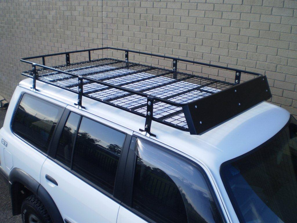 aef0cc24f20b Steel Off Road Heavy Duty Roof Rack NH-NL Pajero Wagon 2.2 x 1.26m x 0.17m