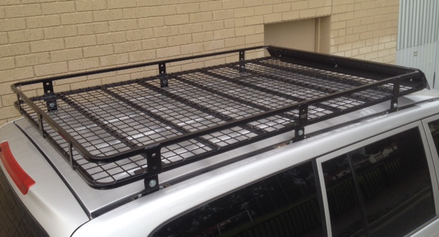 2c1a1a132ca0 Steel Off Road Roof Rack Toyota 100 L/cruiser 1.9 x 1.26m