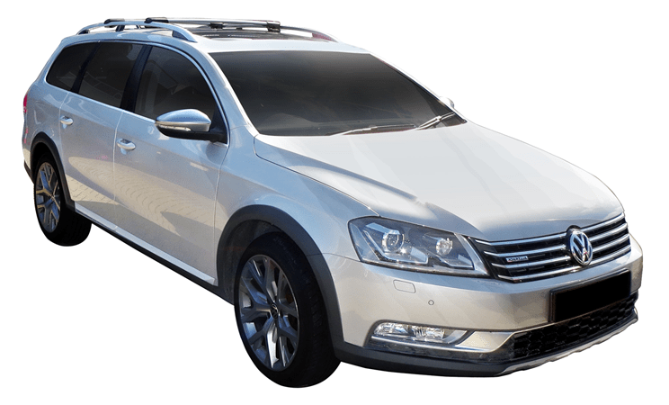 Volkswagen Passat Alltrack 4dr Wagon With Roof Rails 10 12