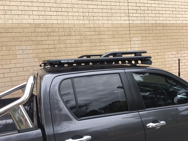 Toyota Hilux 4dr Ute Double Cab 10 15on Rhino Rack