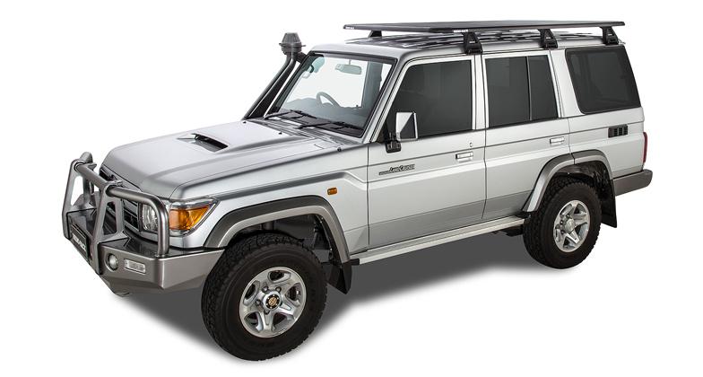 Toyota Land Cruiser 76 Series 4dr 4wd 03 07on Rhino Rack