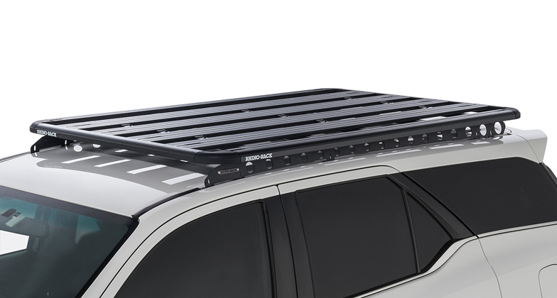 Rhino Roof Racks >> Toyota Fortuner Gxl Crusade 5dr Suv With Flush Rails 11 15on Rhino Rack Backbone Pioneer Platform 1928mmx1236mm