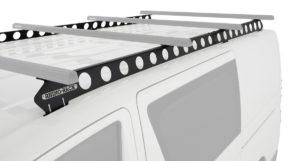 Rhino Rack Jeep Wrangler JL 4WD SUV Hard Top 4 Door Internal Structure Roof Rack//Bare Backbone 3 Base Mounting System in Black