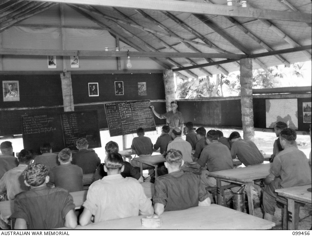 Rabaul, New Britian, Army Education Service