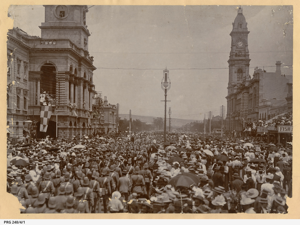 Boer War Departure