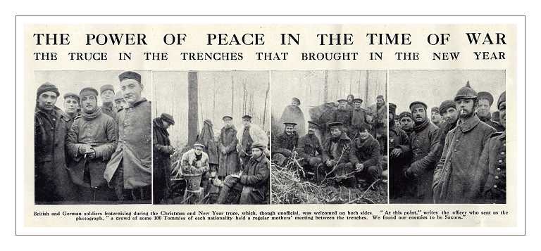 From the British Magazine 'The Graphic', January 1915