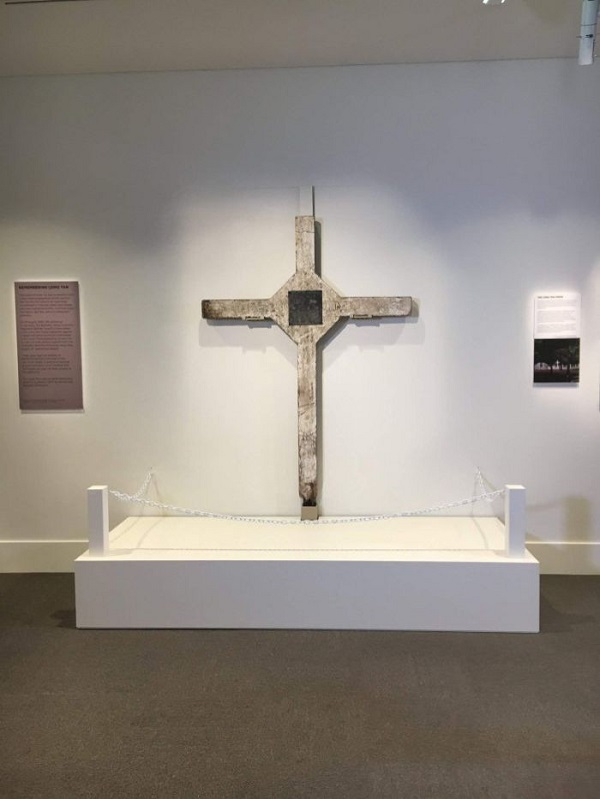 The Cross of Long Tan at the Australian War Memorial