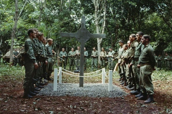 Long Tan cross dedication in Vietnam in 1969