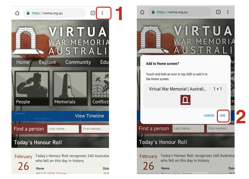 Virtual War Memorial