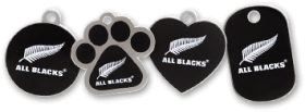 All Blacks licensed tags