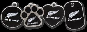 All Blacks licensed tags
