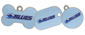 Blues licensed tags