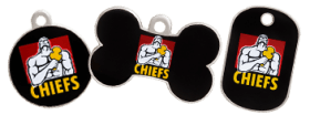 Chiefs licensed tags