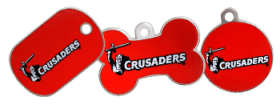 Crusaders licensed Tags