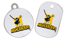 Highlanders licensed tags