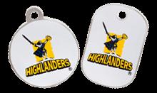 Highlanders licensed tags