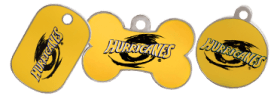 Hurricanes licensed tags