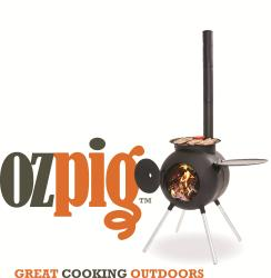 The Ozpig will become your best mate for entertaining outdoors.