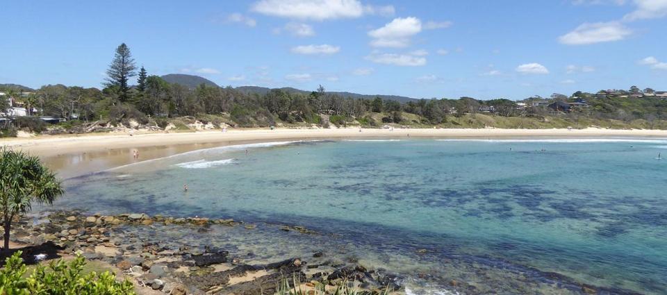 Forster Beach - Scotts Head