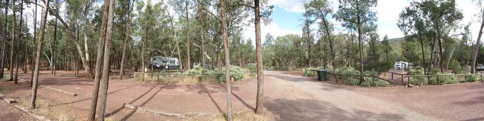 Wilpena Pound Resort Campground