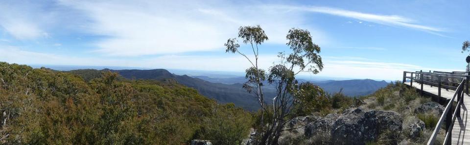 Mount Kaputar Summit Lookout