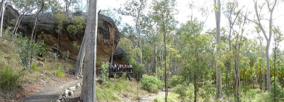 Carnarvon Gorge - Baloon Cave