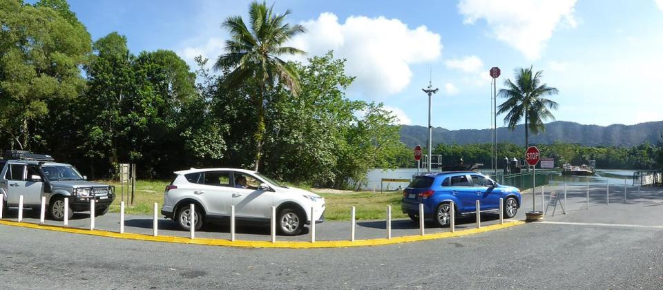 Daintree River Ferry Crossing