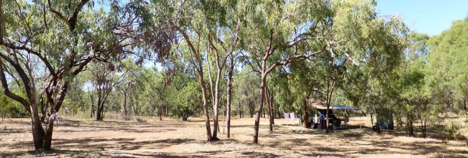 Flat Creek Station Camping Area