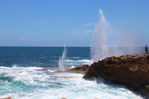 Go to Point Quobba Blowholes, Carnarvon WA