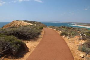 Go to Red Bluff Lookout, Kalbarri WA