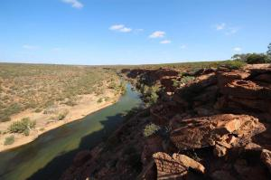 Go to Hawks Head Lookout, Kalbarri NP WA