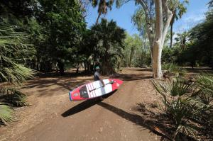 Go to SUP board riding at Adels Grove, Adels Grove QLD