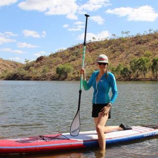 SUPing at Lake Julius