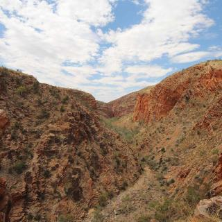Serpentine Gorge Lookout
