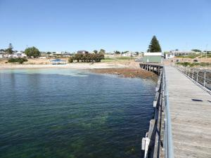 Go to Port Victoria Jetty, Port Victoria SA