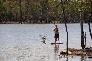 Go to SUPing at Robinvale, Robinvale VIC