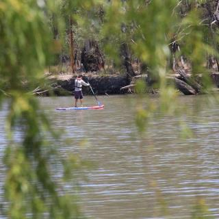 SUPing at Robinvale