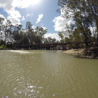 SUPing at Swan Hill