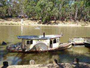Go to Echuca Riverboat Dock, Echuca VIC