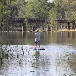 SUPing in Benalla