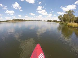 Go to SUPing at Lake Ginninderra, Canberra ACT