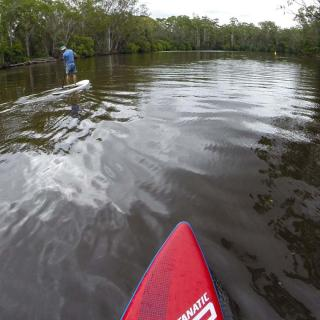 SUPing at Failford