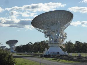 Go to Australia Telescope National Facility - Paul Wild, Narrabri NSW
