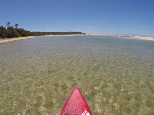 Go to SUPing at Saltwater, Saltwater NSW