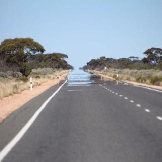 Eyre Hwy - 90 Mile Straight